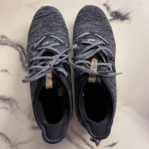 Nike Black/White Air Max Sequent 3 Running Shoes